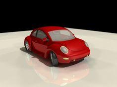 Volkswagen Beetle Classic VW Bug 3d model