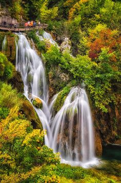 Plitvicka Falls Croatia 8232 is a photograph by Karen Celella. Source fineartamerica.com