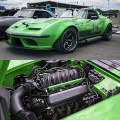 """6,551 Likes, 17 Comments - Classic Rides Daily (@classicridesdaily) on Instagram: """" @detroitspeed """"Equipped"""" Vette (Green Mumbai) 