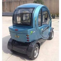 Green Transporter Q Pod Electric Mobility Scooter - Electric Wheelchairs USA Go Kart, Moped Scooter, Tricycle Bike, Vespa Scooters, Motor Scooters, Mobility Scooters, Mobility Aids, Delphine, Electric Cars