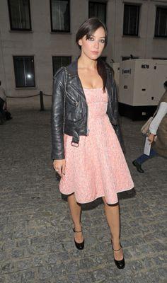 Daisy Lowe, i love her style. i want her wardrobe.