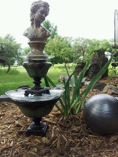 Victorian Yard art. Created by Designs with Flare. SOLD