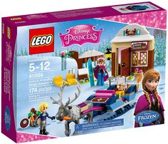 LEGO Disney Princess Frozen Anna & Kristoff's Sleigh Adventure ... got 4 my Lauren she loves it