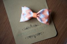 Patty clips in Peach Sugar Hair Bow bow tie by hopscotchboutique, $4.00 Sugar Frosting, Bow Bow, Hopscotch, Beautiful Hands, Different Colors, Hair Bows, Hair Clips, Peach, Tie