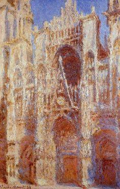 The Portal in the Sun - Monet