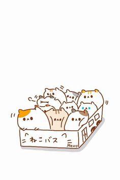 着せ替えアプリCocoPPaでも投稿しました、『ねこバス』の壁紙です(*´ω`* )  #ねこバス #ネコバス #ねこ #ネコ #猫 #Cats #Cat #cat #cats #catbus #Merry家 #ゆるい #動物
