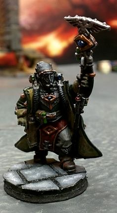 Death Korps of Krieg Psyker Warhammer40k