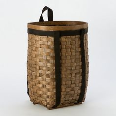 Woven Ash Wood Pack Basket.
