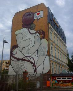 Berlin is poor but sexy  #EastSideGallery #Berlin #grafitti