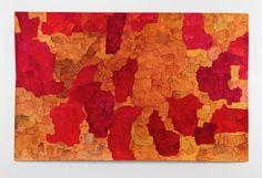 Koo Jeong A It is not yet an Universe where Saturn is 2013 Watercolour on paper, unique 238 x 150.5 cm (unframed)  Courtesy of the artist and Pilar Corrias Gallery.  Photo: Ken Adlard.   #KooJeongA #PilarCorriasGallery #HongKongese #exhibition #Duddellsartprogram #DAPHK #ICA #icalondon #collaboration #artbasel15 #contemporaryart #fineart #jiagroup #duddellshk