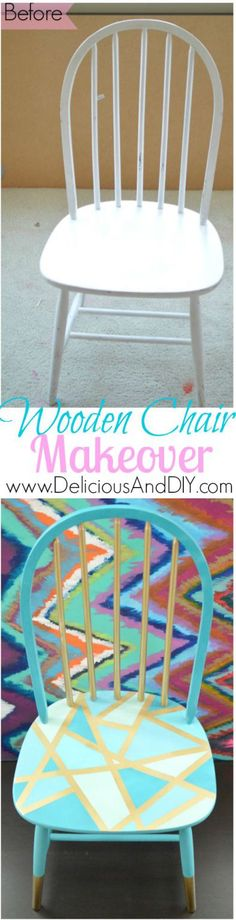Wooden Chair Makeove