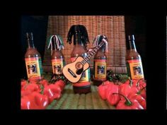 Animation by Doug (Doc) Bruce. Doc's MB Family Jamaican Hot Sauce by MB Family Foods (a unique hot sauce with frisky ingredients). Find us at www.mbfamilyfoods.com . *Music composed by Doug (Doc) Bruce using royalty free sound samples from Acoustica.com     I used a standard digital camera on a tripod aimed at a small stage set built on our dining...
