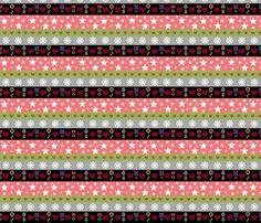Holiday Stripes - pink lemonaid fabric by drapestudio on Spoonflower - custom fabric - http://www.spoonflower.com/designs/3645395