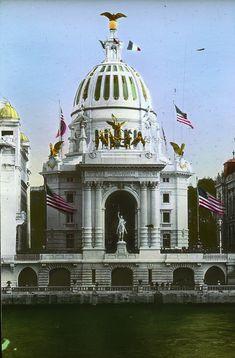 Le pavillon des USA à l'exposition universelle de Paris en 1900 - Exposition universelle de 1900 — Wikipédia