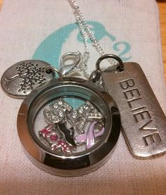 """I registered for the Ta ta Trot. It's a 5k walk/run for breast cancer!! This is the living locket I designed... please like me on Facebook  """"Origami Owl Tonja Long Designer #10882164""""  or visit my website: http://tonjalong.origamiowl.com/"""