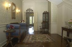 Another beautiful entrance hall from a house built in 1768