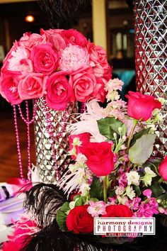 pink and black wedding, events 1418, nashville weddings, harmony designs, enchanted florist, #nashvillewedding, @Caprice Palmer   The Enchanted Florist