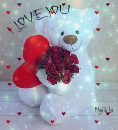 Foto - Google+ Love Heart Images, Beautiful Flowers Images, Love You Images, Wonderful Flowers, Flower Images, I Love You Pictures, Romantic Pictures, You Dont Love Me, I Adore You