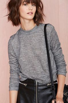 Nasty Gal Low Fi Sweatshirt | Shop Clothes at Nasty Gal