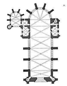 Saint-Chapelle Church Plan (Hira)