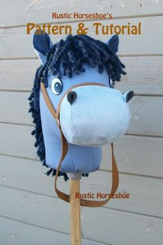 Rustic Horseshoe's Second Generation Stick Horse Pattern   Sewing Pattern   YouCanMakeThis.com
