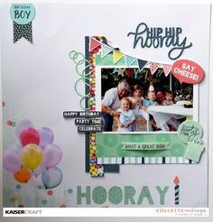 copy-of-dsc_0487 Birthday Scrapbook Layouts, Baby Scrapbook, Scrapbook Pages, Scrapbooking Layouts, Man Birthday, Boy Birthday Parties, Paper Doilies, Ink Pads, Washi Tape