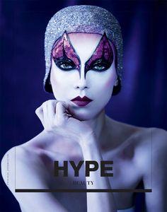 Kati Nescher & Val Smirnova by Stefan Milev  for Hype- beauty