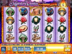 Heart of Venice Video Slot  is themed after the romantic Italian city, and is a WMS designed and developed slot