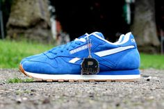 "Reebok Classic Leather ""Vintage Suede"" Pack - Blue"