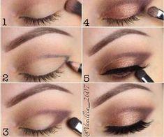 Super Makeup Tips For Beginners Eyeliner Make Up 56 Ideas Eye Makeup Steps, Natural Eye Makeup, Makeup For Brown Eyes, Smokey Eye Makeup, Makeup Eyeshadow, Makeup Brushes, Makeup Eyebrows, Natural Beauty, Eyeshadow Palette