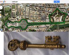 vatican-key city map