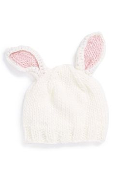 BLUEBERRY HILL The Blueberry Hill 'Bunny' Knit Hat (Baby) available at #Nordstrom