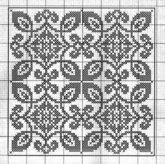 Monochrom, Diy Christmas Ornaments, Needle And Thread, Cross Stitch, Tapestry, Embroidery, Crochet, Pattern, Tiles