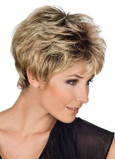 Industrious Strongbeauty Short Soft Shaggy Layered Full Synthetic Wig Brown Highlights Curly Womens Synthetic Wigs Hair Extensions & Wigs Synthetic Wigs