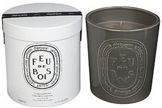 Diptyque Feu de bois Indoor/Outdoor Ceramic Candle-51.3 oz