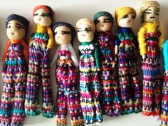Bundle of Guatemalan Dolls at http://www.shop-souvenir.com