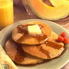 Dale un toque especial a tu desayuno o tu brunch con estos deliciosos panqueques de harina de maíz.