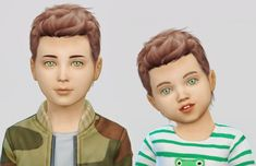 The Sims 4 Mody: Wings od Fabienne The Sims 4 Pc, Sims 4 Cas, Sims Cc, Sims 4 Hair Male, Sims Hair, Kids Hairstyles Boys, Boy Hairstyles, Sims Mods, Toddler Hair Sims 4
