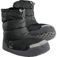 Sierra Designs Pull On Down Bootie Slipper - Women's