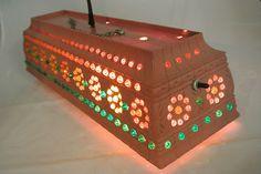 LRG Vtg Lawnware Planter Patio Tiki Swag Bead Lamp Pot Light Lantern RV Camping | eBay Camping Lights, Rv Camping, Camping Ideas, Decor Crafts, Fun Crafts, Bus Living, Pot Lights, Outdoor Stuff, Rv Parks