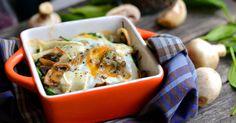 Remek recept Spenótos-gombás tojás sütőben sütve. Gyors, egészséges reggeli vagy akár könnyed vacsora! ;)