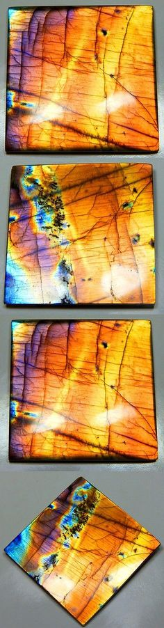 Labradorite 164393: 321Ct Rare Natural Purple Spectrolite Labradorite Octagon Cabochon Gemstone S922 -> BUY IT NOW ONLY: $99.99 on eBay!