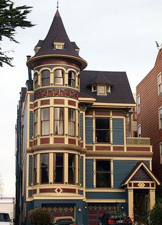 "Victorian home in San Francisco...  ""Don't hate me because I'm beautiful (and completely unaffordable)."""
