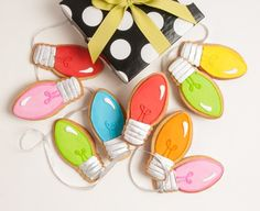 Christmas Bulbs Gift Box