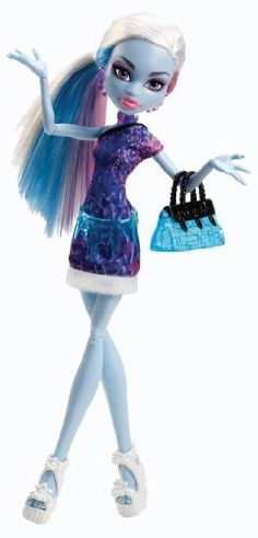 Monster High Scaris City of Fright Abbey Bominable Doll Daughter of Yeti