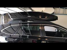 (7) Thule Motion XT (XL) Roof Box : 2017 Subaru Outback - YouTube