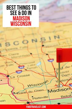 Start your travel planning to Madison, Wisconsin today. We have you covered with this terrific of list of all the best things to see and do in Madison. No matter what time of year you visit you'll find wonderful places to eat, so many things to do inside and out, beautiful parks, hiking and biking trails, a free zoo, botanical gardens and two beautiful lakes.  #VisitMadison #Madison #TravelWI