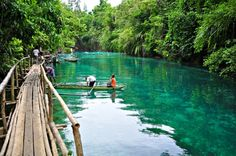 Enchanted River, Philippines :O