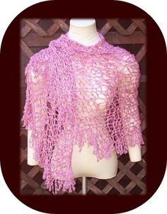 STEPS Shawl crochet pattern by Cindy Kamps by crochetbayboutique