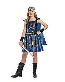 gladiator tween girls costume